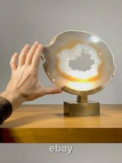 1970 Lamp Agathe Sculpture Shabby-chic Willy Daro Maria Pergay Jansen Art-deco