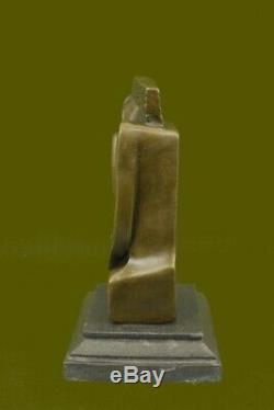 Abstract S. Dali Bronze Sculpture Marble Base Massif Modern Figrine Deal