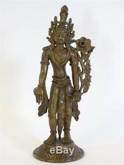 Antique Bronze Figure Sculpture Deity / Divinity Indians Mythology India Art