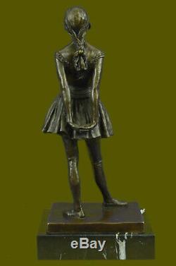 Art Deco New Prima Ballerina Dancer Classic Figurine Bronze Sculpture