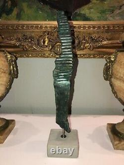 Bourdier Jean Frederic Sculpture In Bronze Contemporary Art Signed Artist Known