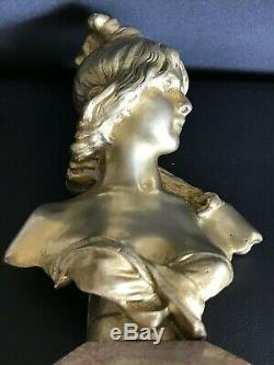 Bronze Golden Anton Nelson 1849/1910 Art Nouveau
