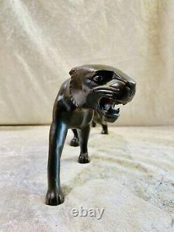 Bronze Panther Art Deco
