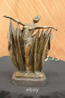 Bronze Sculpture Abstract Decor Collection Gia Chiparus Massif. Art Nr