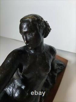Bronze Sculpture Art Deco, By Le Faguays, Circa 1930