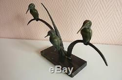 Bronze Sculpture Art Deco Group Of Fishermen. Ref 179/4