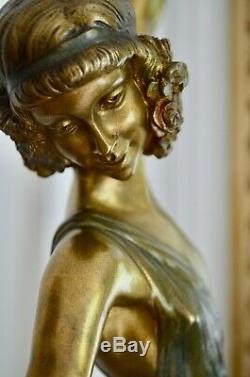 Bronze Sculpture Art Deco Pierre Laurel (the Faguays) Marcel Guillemard