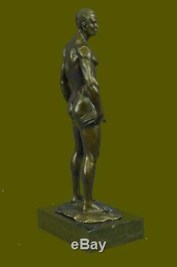 Bronze Sculpture, Hand Made Art Statue Gay Collector Edition Flesh Male Gift