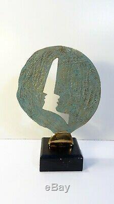 Bronzes Mohon Foundry Martine Mercier Abstract Sculpture Art