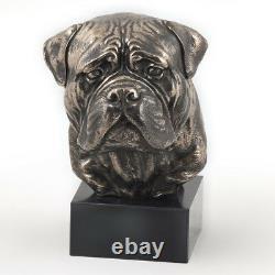 Bullmastiff, Miniature Statue / Dog Bust, Limited Edition, Art Dog En
