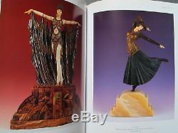 Chiparus A Sculptor Art Deco Shayo Sculpture Chryselephantine Bronze Ivory Eo