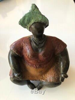 Contemporary Art Bronze Sculpture Of St. Phalle Nikki Way Modern Art