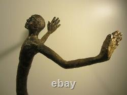 Contemporary Bronze Male Sculpture/contemporary Bronze Sculpture/modern Art