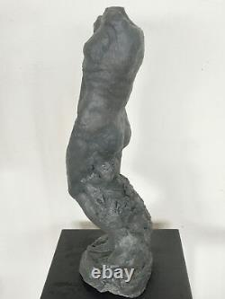 Corpus Statue Sculpture Terracotta Bronze Art Of The Nude 48/17/15cm