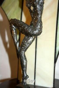 D. H. Chiparus Dancer Light Art Deco Bronze Sculpture Beautiful Demetre Dimitri