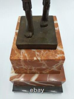 Demeter Chiparus Dancer Philician Bronze Art Deco Style Barbedian