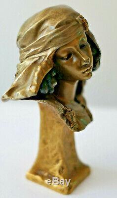 E. Barrias Ancient Sculpture Bronze Period Art Nouveau Orientalist Susse Frères