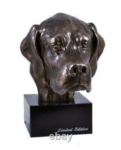 English Pointer, Miniature Statue / Dog Bust, Limited Edition, Art Dog En