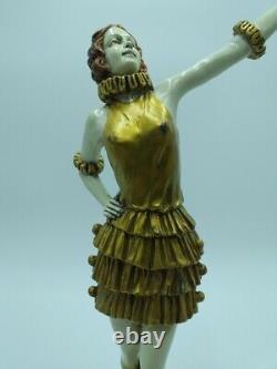 Fernand Paris Dancer At The Bronze Cabaret Of Art Deco Style Chiparus