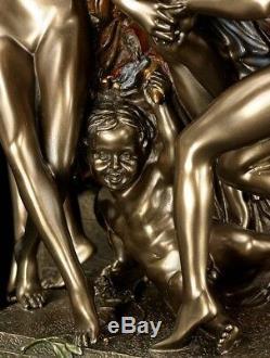 Figurine Jean-baptiste Carpeaux Veronese Sculpture Bronzed Sculpture