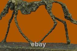 Fine Arts, MID Century Abstract, Sculpture, Cane, (dog), European Fact