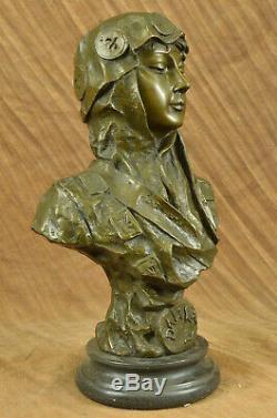 Fine Large Vintage French Style Art Nouveau Bronze Sculpture Statue'villanis