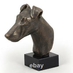 Fox-terrier With Smooth Hair, Dog Bust, Limited Edition, Art Dog En