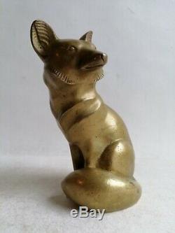 G. Lawrence H. 1880 1940 Animal Sculpture Statue Bronze Art Deco 1930