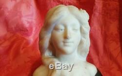 G. Verona Art Nouveau Symbolism Sculpture Marble And Bronze