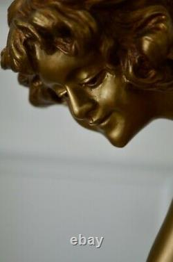Huge Sculpture Art Deco Claire Colinet Juggler