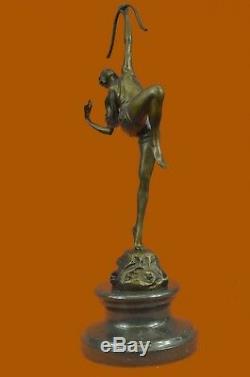 Huntress Diana Art Nouveau Museum Bronze Sculpture Statue Figurine Figurine T