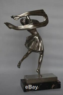 Ignacio Gallo H Payen Publisher Bronze Sculpture Art Deco