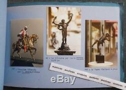 J. Chardon. Editor Fondeur Dart Bronze Sculptures Barye Chiparus Happiness Leads