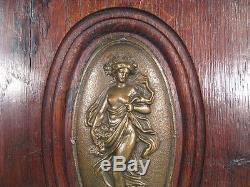Low Relief Art Nouveau / Art Nouveau Decorative Panel Four Seasons