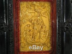 Low Relief Descent From Cross Bronze / Sacred Art / Sculpture Descent From Cross