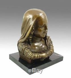 Modern Art Bronze Sculpture Mona Lisa Signieert Botero