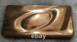 Monique Gerber The Art Of Bronze 1960/1970's Large Sculpture Box