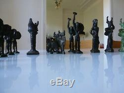 On Failure Solid Bronze Sculpture Modern Game To Identify