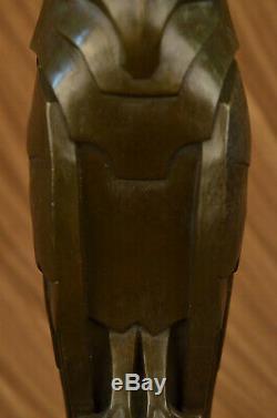 Salvador Dali Abstract Modern Art Bronze Sculpture Marble Statue Owl House