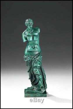 Salvador Dali Rare Venus With Drawers Bronze Sculpture Chair Female Signed Art