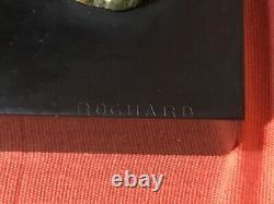 Sculpture Irenee Rochard (1906-1984), Art Deco, Greyhound Torque, Weight 14kg