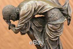 Signed Bronze Art Nouveau Deco Chiparus Figurine Statue Sculpture Figurine Statue
