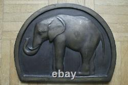 Simone Boutarel Elephant Bronze Sculpture Art Deco