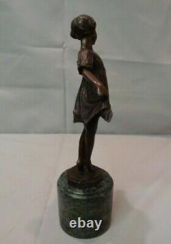 Statue Sculpture Dancer Classic Opera Style Art Deco Style Art Nouveau Bronze