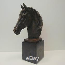 Statue Sculpture Horse Animal Style Art Deco Style Art Nouveau Solid Bronze