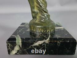 The Max Glass (1891-1973) Elegant Dancer Mascot Art-deco