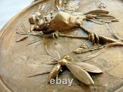 Thomas Art Deco Art Deco Bronze Relief Medal