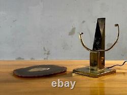 1970 WILLY DARO LAMPE AGATHE SCULPTURE SHABBY-CHIC Maria Pergay Jansen ART-DECO