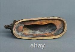 Bronze Animalier Biche Couchée Clovis Masson Susse Frères Éditeur Art nouveau