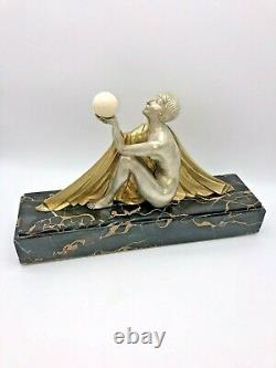 Bronze Art-Deco par Jean Lormier
